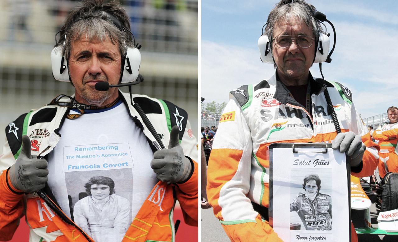 Как стать известным, работая с шинами в команде Формулы-1. Фото 4