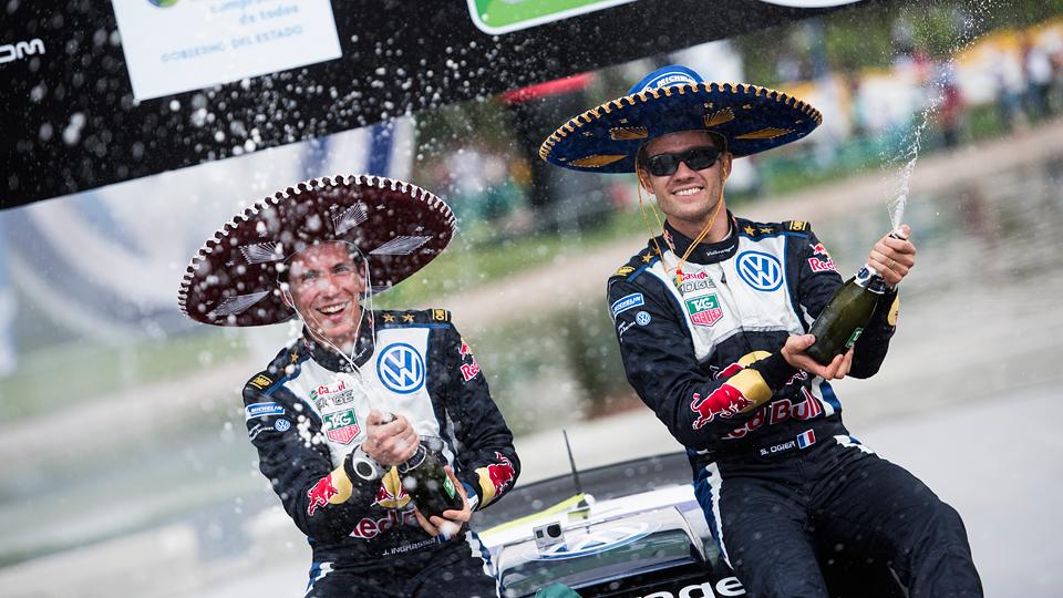 В Мексике у Себастьена Ожье не нашлось ни одного соперника. Фото 1