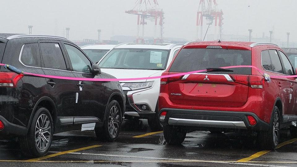 В Сеть попали фотографии Mitsubishi Outlander нового поколения
