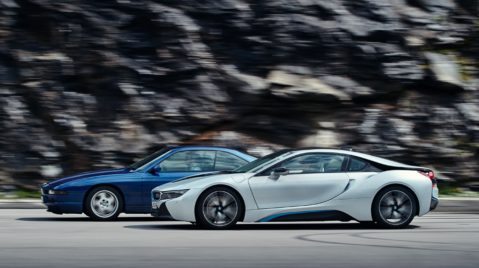 Супертест двух «восьмерок» BMW, как выбор между ностальгией о прошлом и мечтами о будущем. Фото 11