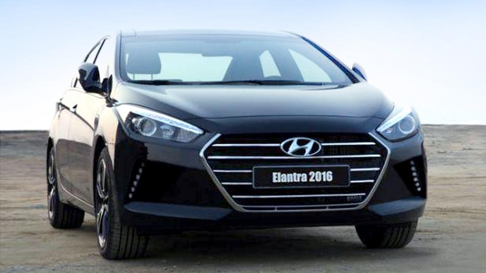 В Сети рассекретили внешность новой Hyundai Elantra