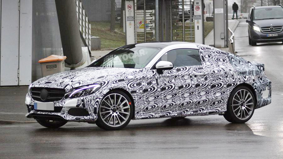 Купе Mercedes-Benz C-Class покажут в сентябре