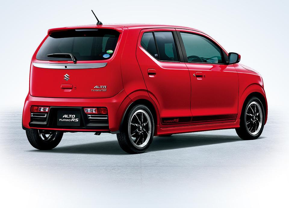 Suzuki Alto Turbo RS оснастили трехцилиндровым турбомотором. Фото 1