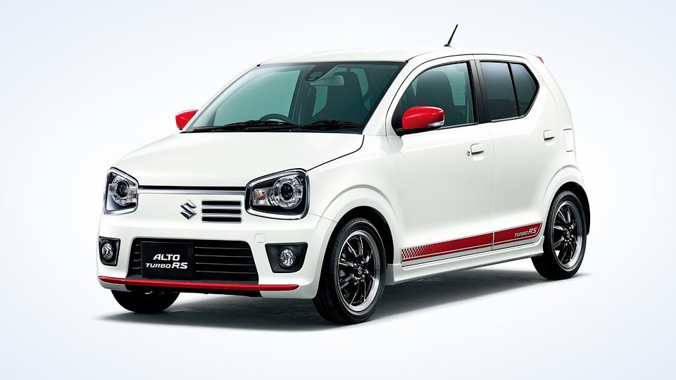 Компания Suzuki запустила в серию «заряженный» микрокар