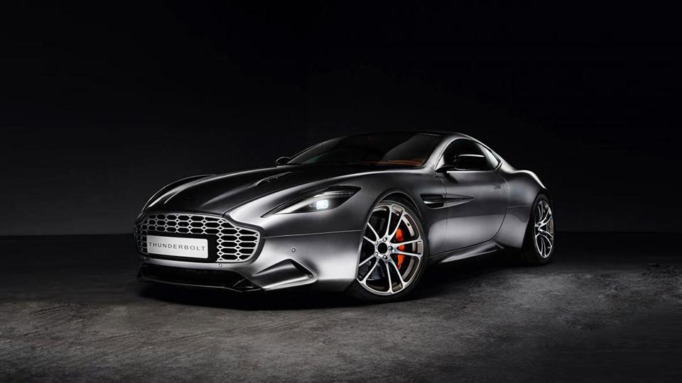Экс-дизайнер Aston Martin сделал карбоновый Vanquish