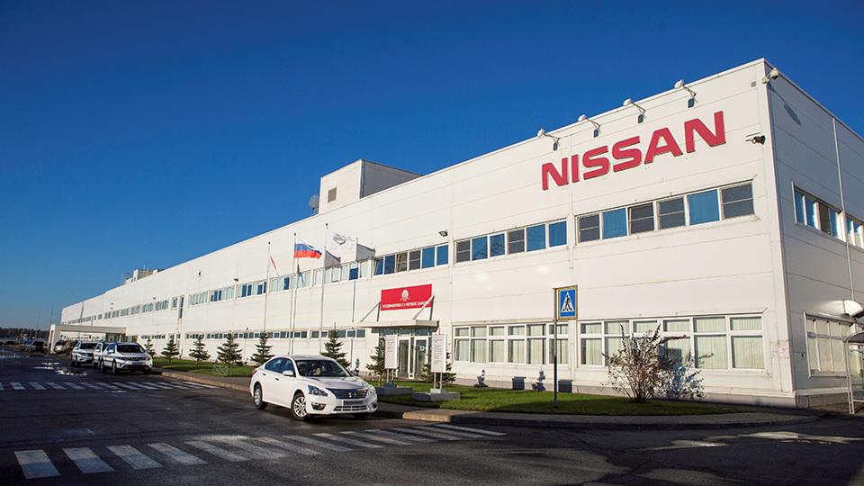 Российский завод Nissan остановили на две недели