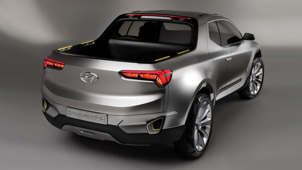 Hyundai вернулась к идее выпуска пикапа