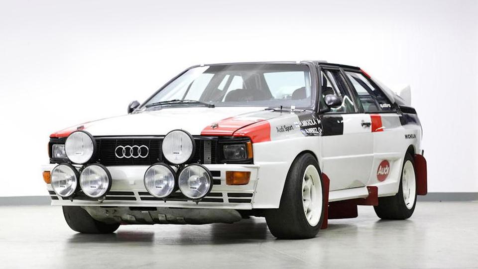 Раллийный Audi Quattro группы B выставят на аукцион