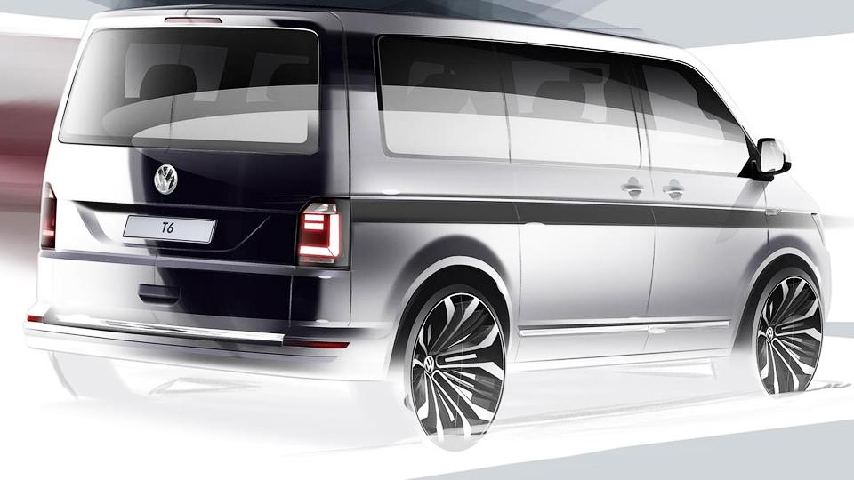 Volkswagen подготовит к дебюту новый фургон Transporter