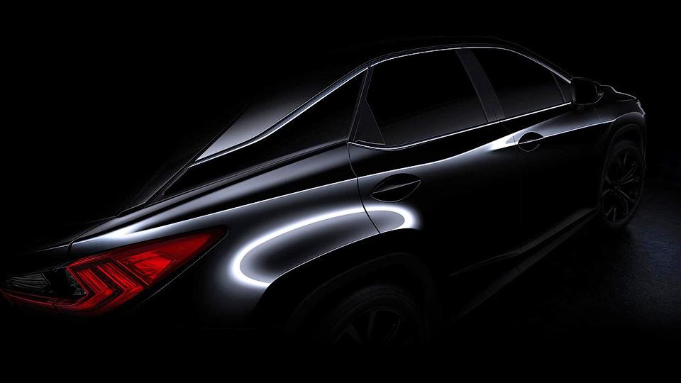 Lexus показал первое изображение нового RX