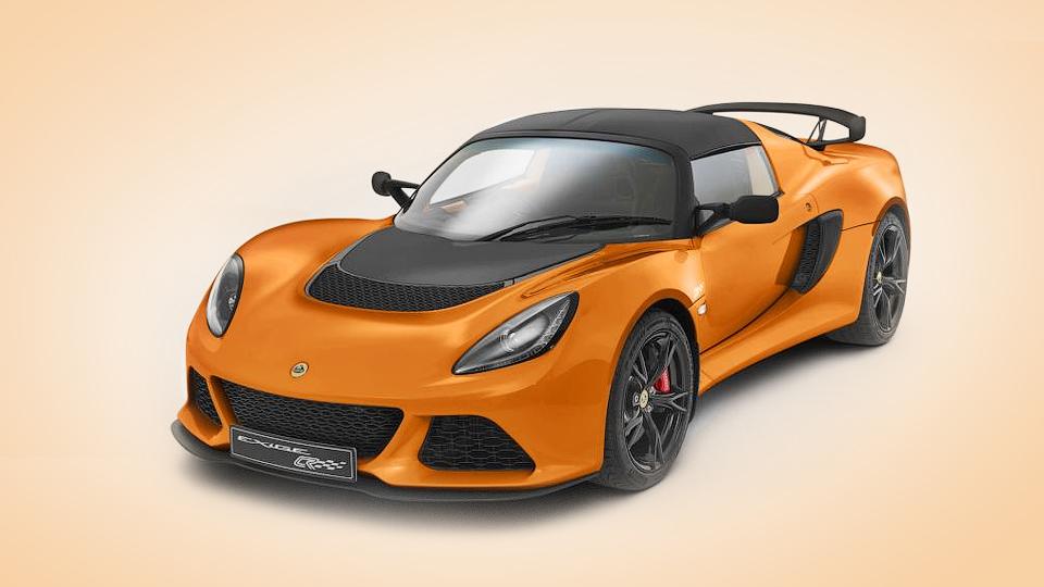 Lotus построил облегченный Exige для трека
