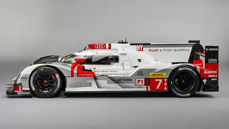 Команда представила новую машину для гонок на выносливость