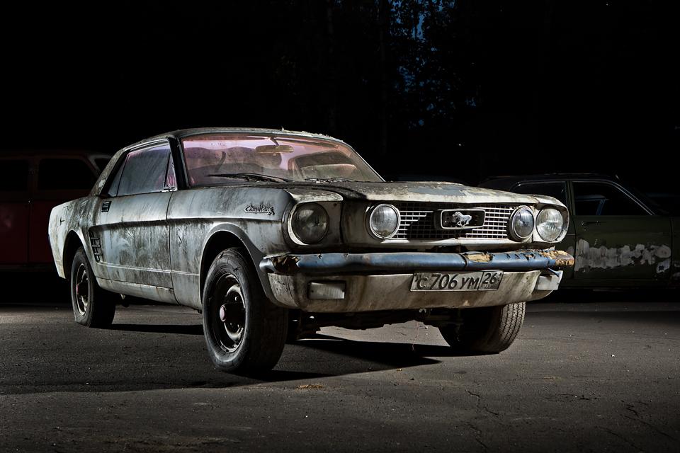 Ford Mustang свнутренностями «Волги» идругие иномарки ссоветской историей. Фото 1