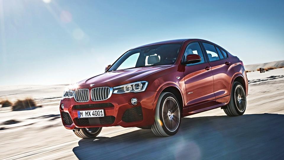 Компания BMW привезла в Россию «дешевый» дизельный X4
