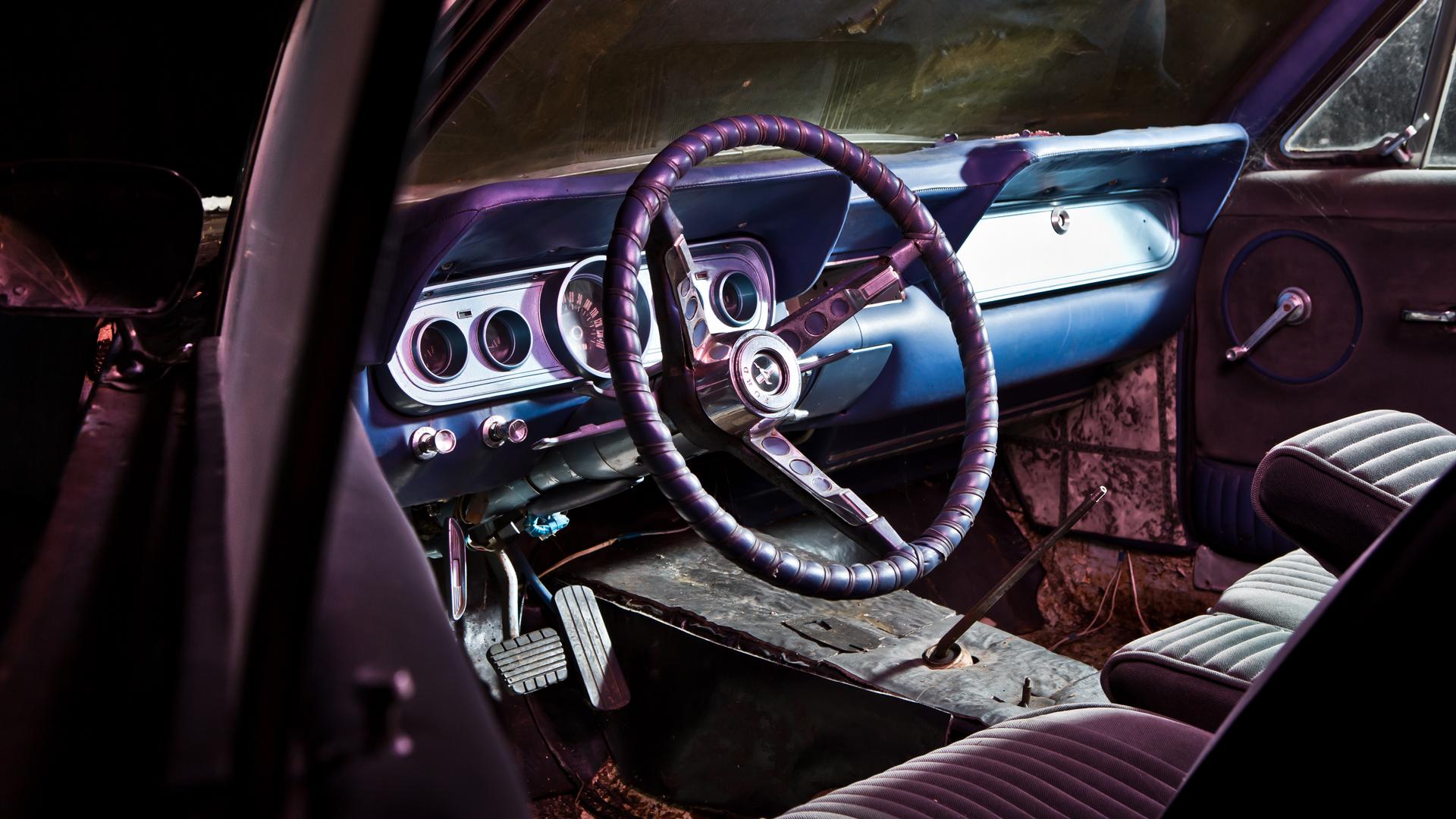 Ford Mustang свнутренностями «Волги» идругие иномарки ссоветской историей. Фото 4