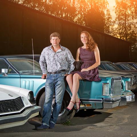 Ford Mustang свнутренностями «Волги» идругие иномарки ссоветской историей