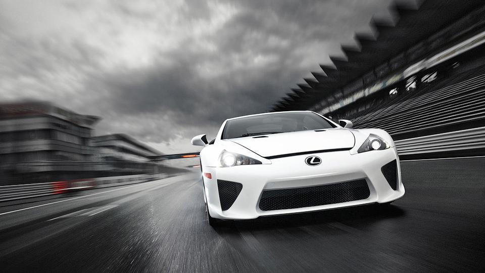Чемпион по дрифту заменил в Lexus LFA мотор V10 на «восьмерку»