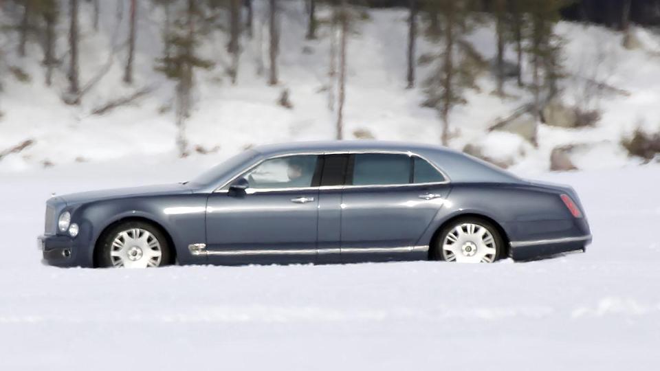 Британская марка превратит седан в лимузин