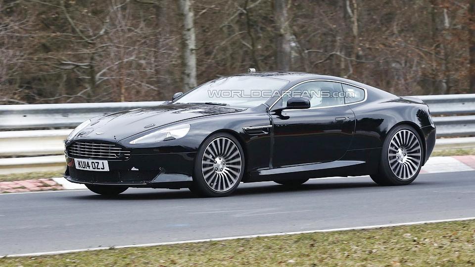 Aston Martin вывел на «Северную петлю» преемника DB9