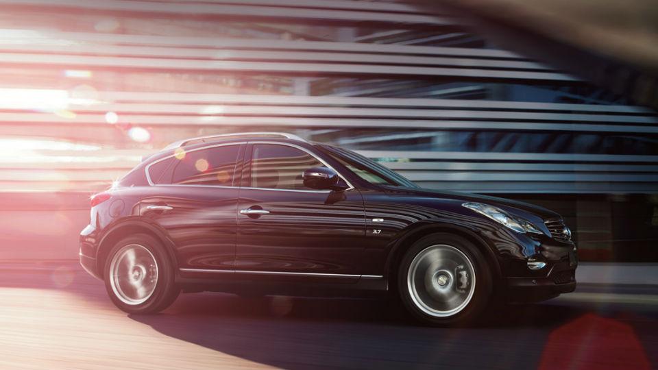 Infiniti обновит кроссовер QX50 к Нью-Йоркскому автосалону