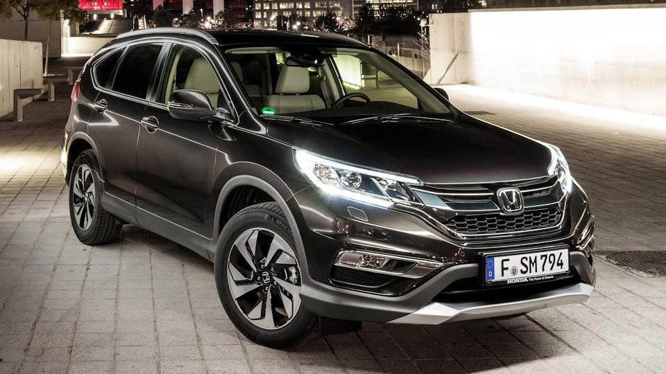 Обновленная «Хонда» CR-V появится в России в июне