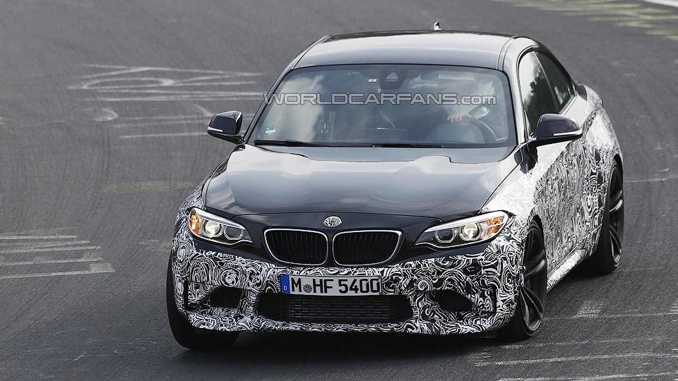 BMW M2 вывели на «Северную петлю» в серийном кузове