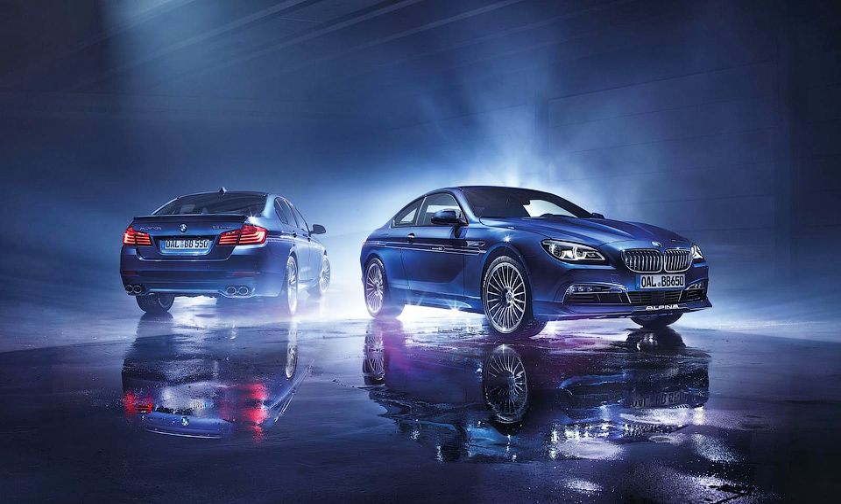 «Альпина» отметила 50-летие спецсерией «пятерки» и «шестерки» BMW