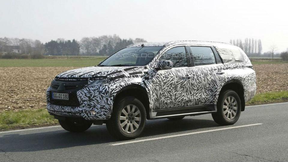 Компания Mitsubishi приступила к испытаниям нового Pajero