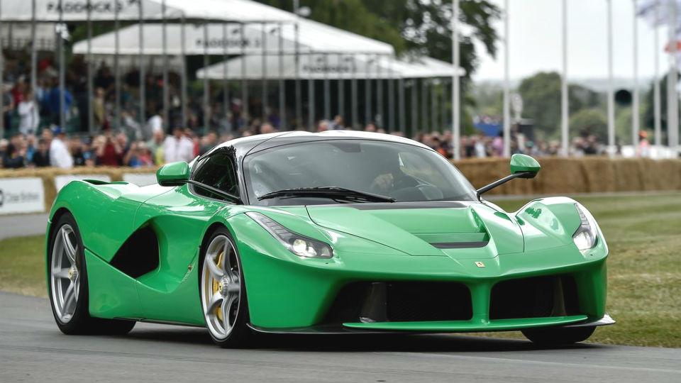 Ferrari оставит атмосферники V12 для гибридов