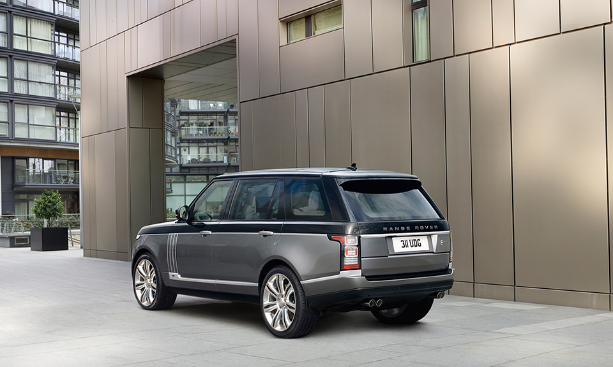 Внедорожник Range Rover укомплектовали 550-сильным двигателем. Фото 1