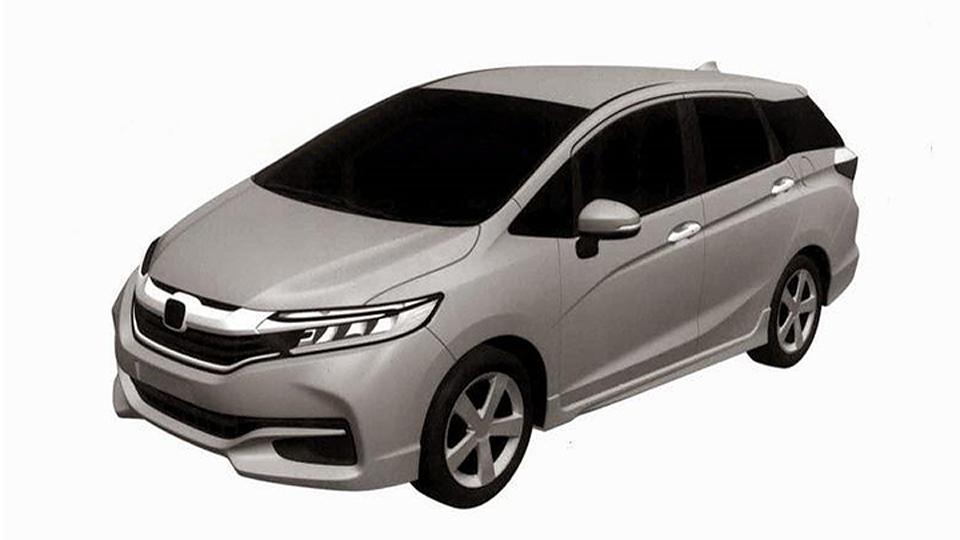«Хонда» запатентовала дизайн нового универсала Jazz