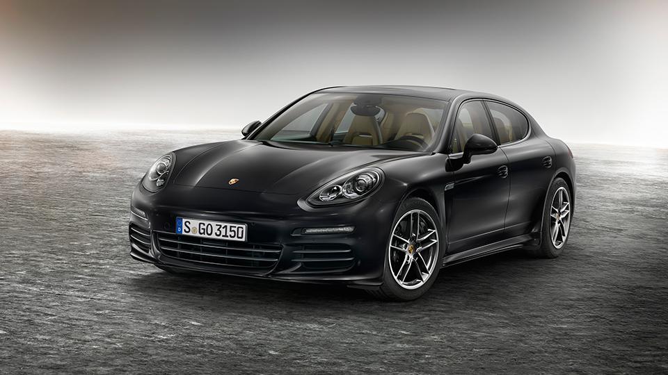 Спецверсию Porsche Panamera назвали «версией»
