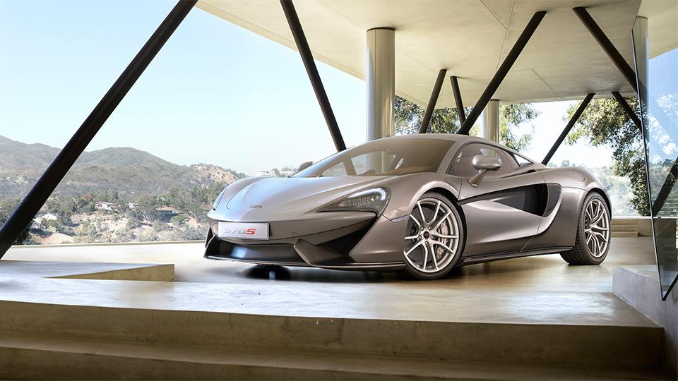 Суперкар McLaren 570S оснастили 570-сильным мотором