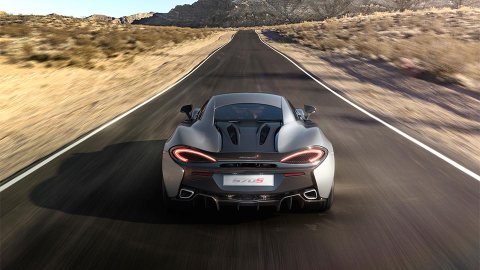 Суперкар McLaren 570S оснастили 570-сильным мотором. Фото 1