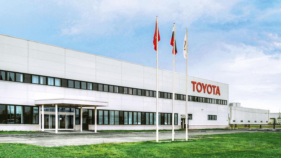 Toyota вложит в российский завод 16 миллиардов рублей за семь лет