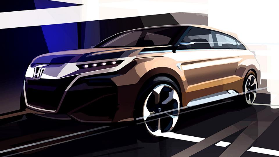 Китайский офис Honda создал новый кроссовер