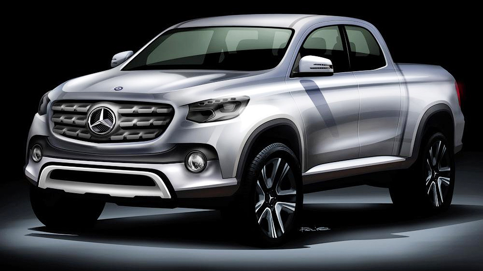 Пикап Mercedes-Benz построят на базе Nissan Navara