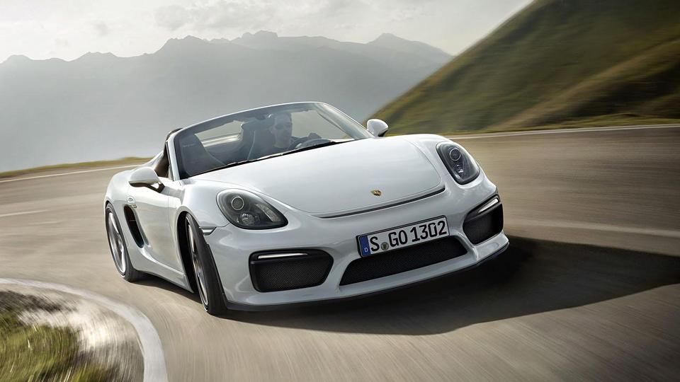 Компания Porsche сделала самый мощный «Бокстер» в истории