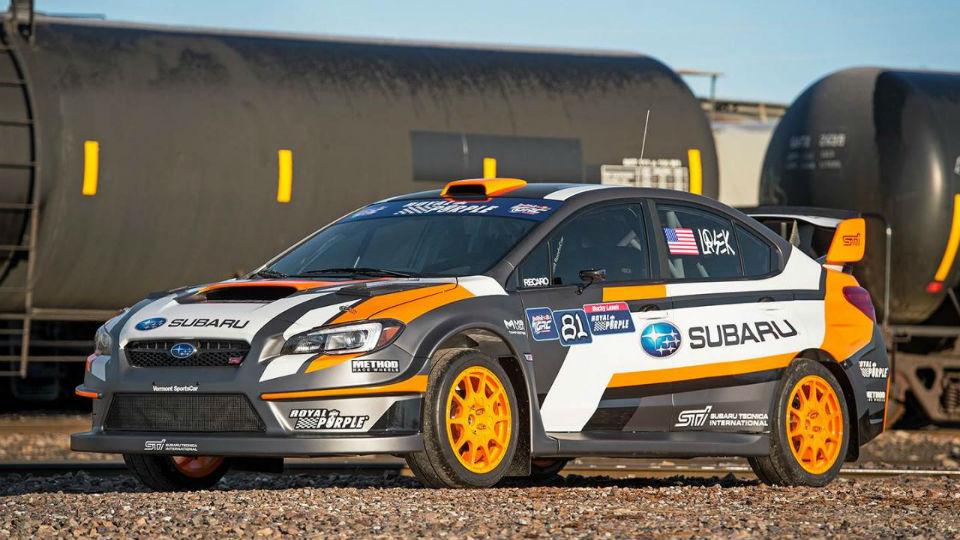 Компания Subaru выпустила 580-сильный WRX STI для ралли-кросса