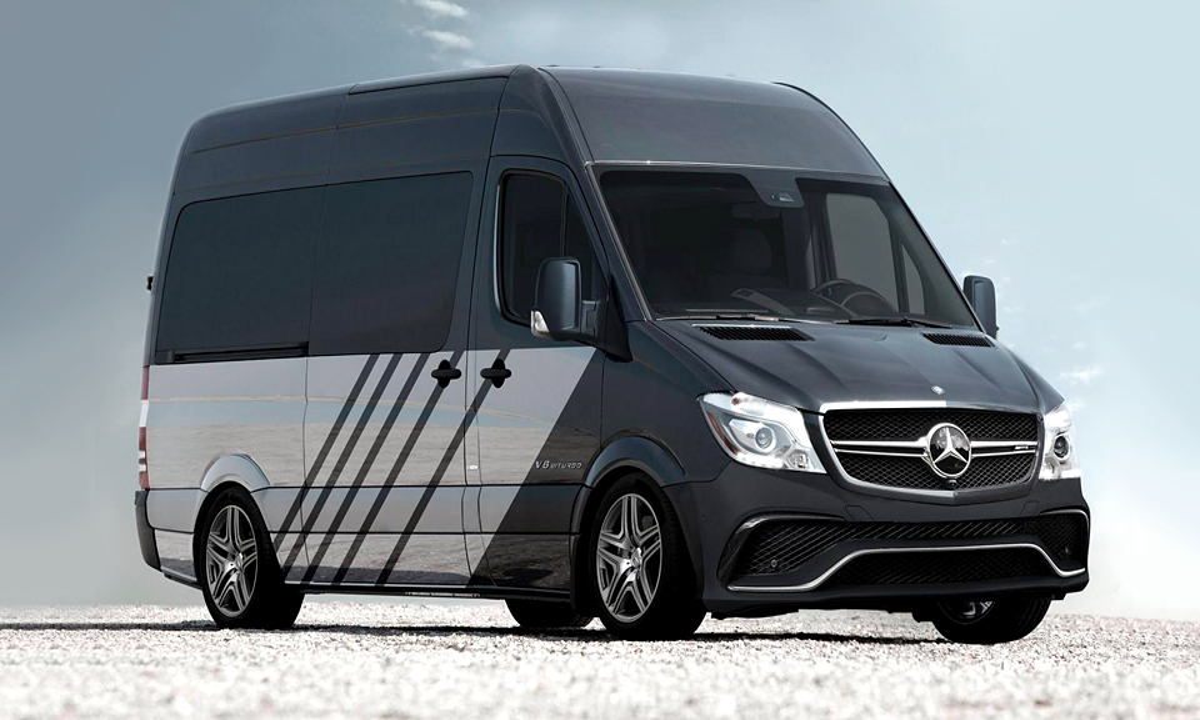 «Мерседес» подготовил к 1 апреля «заряженный» фургон Sprinter