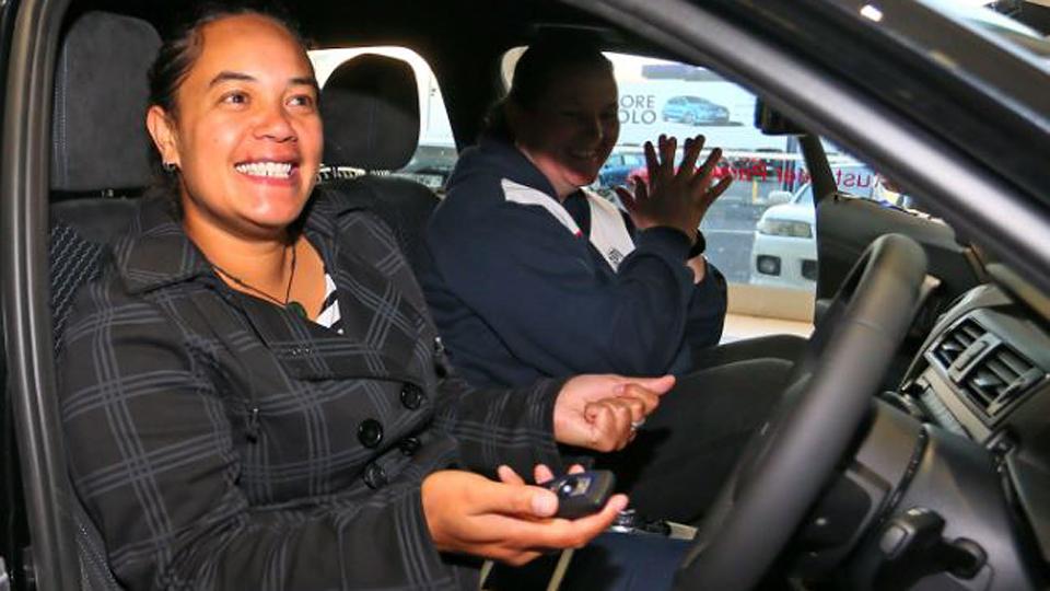 Новозеландка получила на 1 апреля новую «копейку» BMW