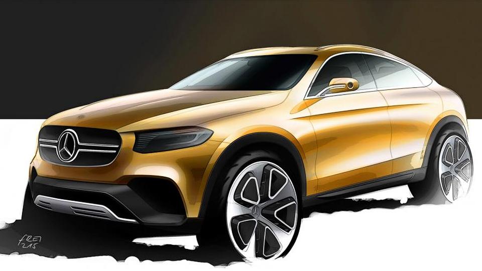 Mercedes-Benz раскрыл дизайн конкурента BMW X4