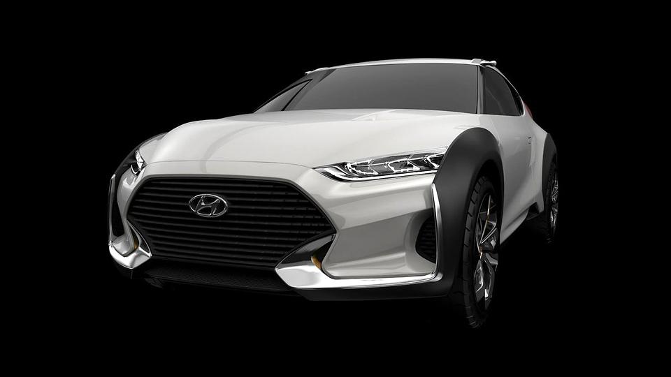 Концепт-кар Hyundai посвятили раллийным мотоциклам