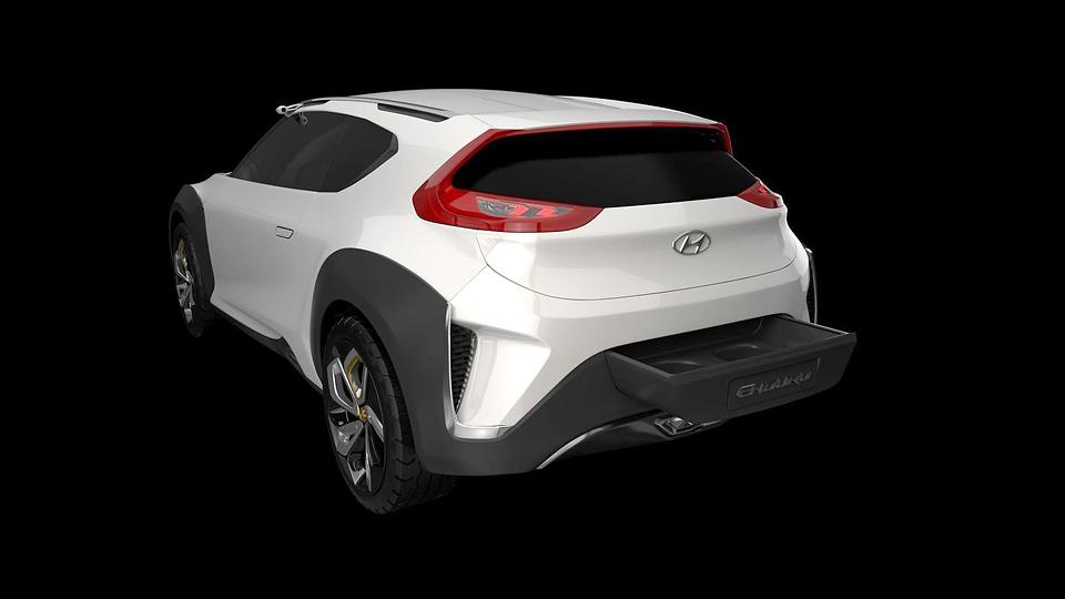 В Сеуле дебютировал кроссовер Hyundai Enduro. Фото 2
