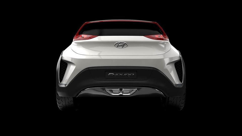 В Сеуле дебютировал кроссовер Hyundai Enduro. Фото 3
