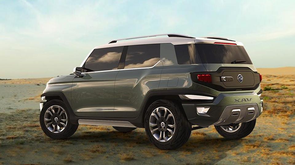 В Южной Корее представили концепт-кар XAV со съемным верхом