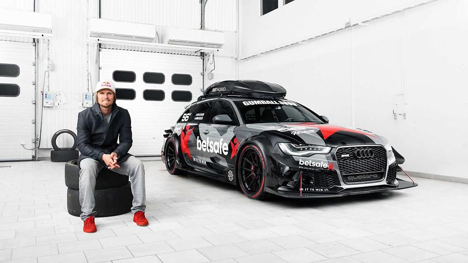 Шведский лыжник построил 950-сильную Audi RS6 в стиле DTM