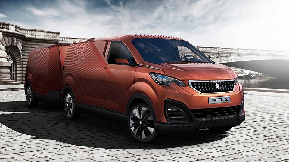 Peugeot Boxer превратили в ресторан на колесах