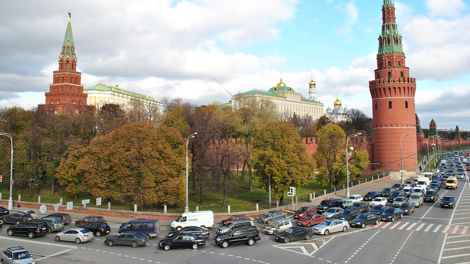 Москва покинула первую строчку рейтинга самых «пробочных» городов