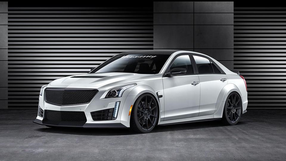 Ателье Hennessey сделает из Cadillac CTS-V самый быстрый седан в мире
